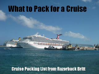 Packing List for a Cruise