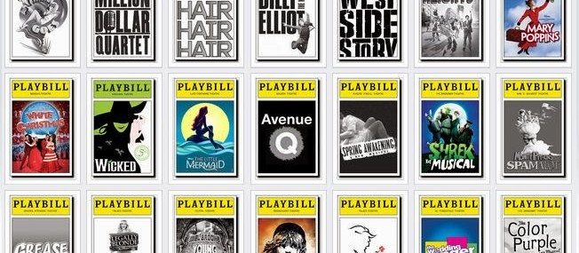 My Playbill Memory Bank