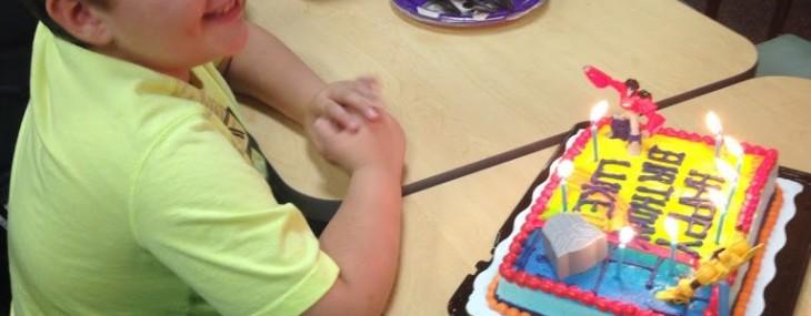 Weekend Recap: Luke's Birthday and Snakes