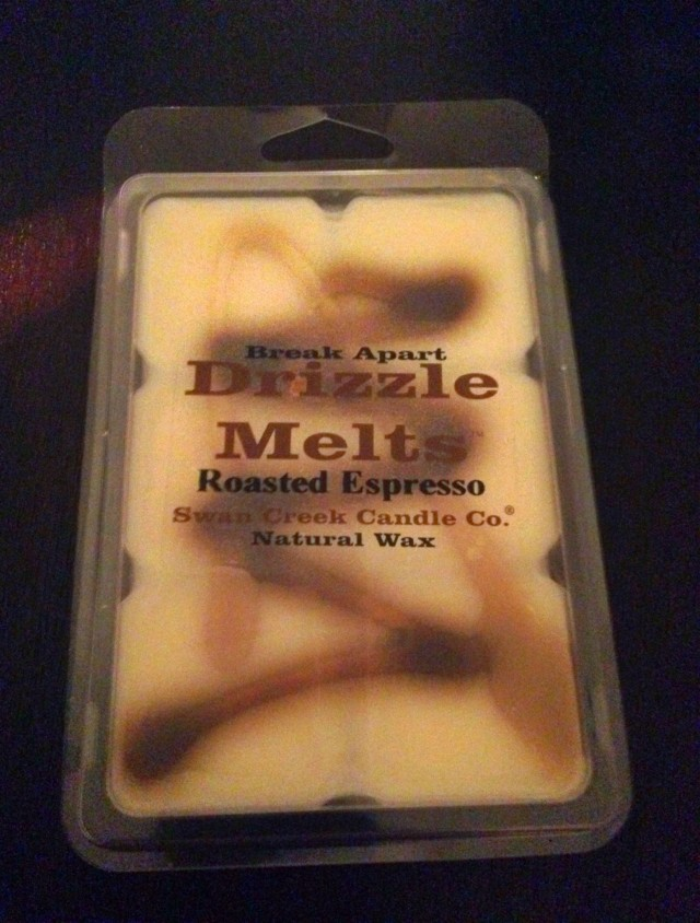 Fall scented wax cubes from Creative Kitchen