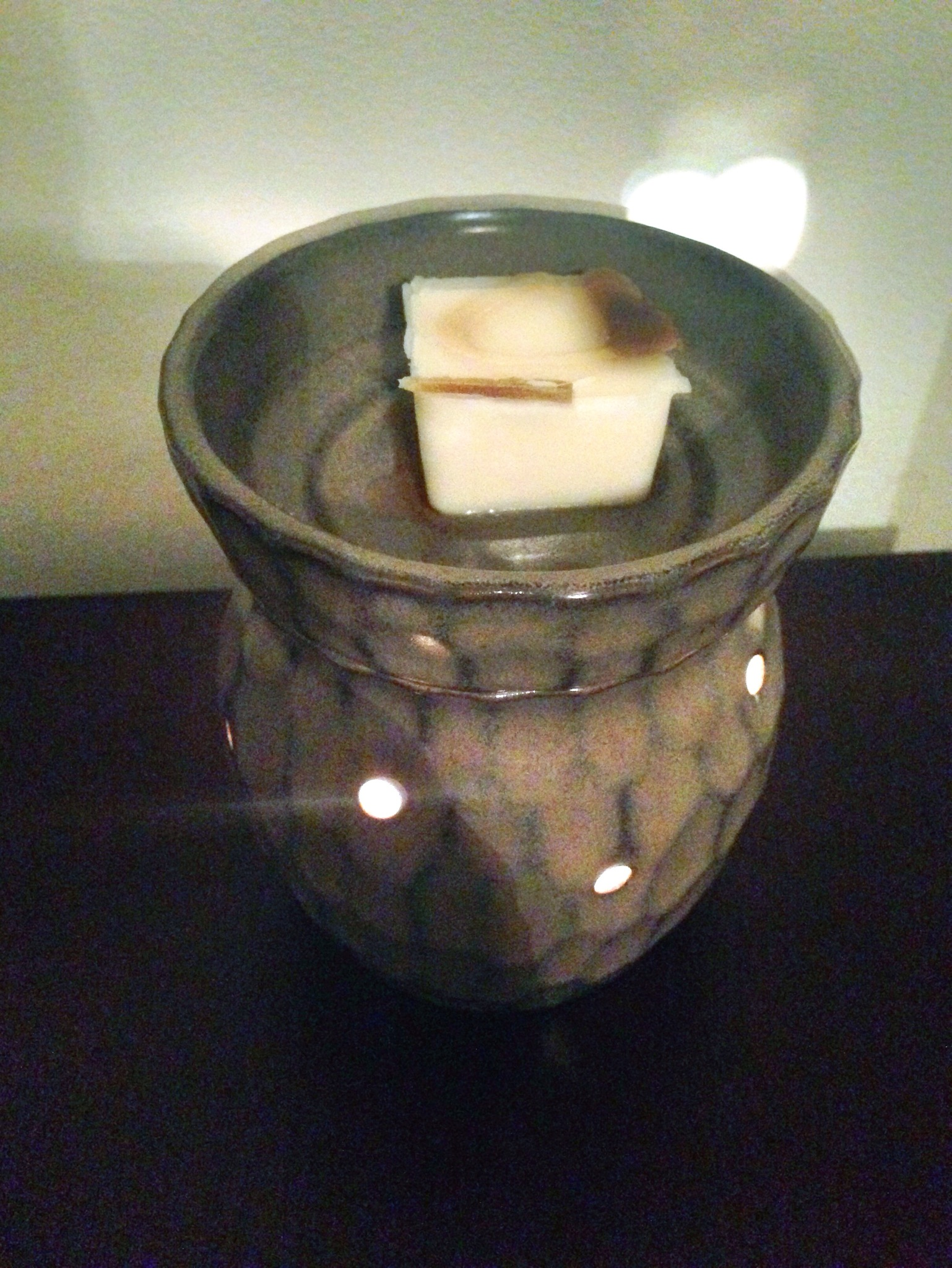 These fall scented wax cubes were strong and only took one cube to fill my whole house!