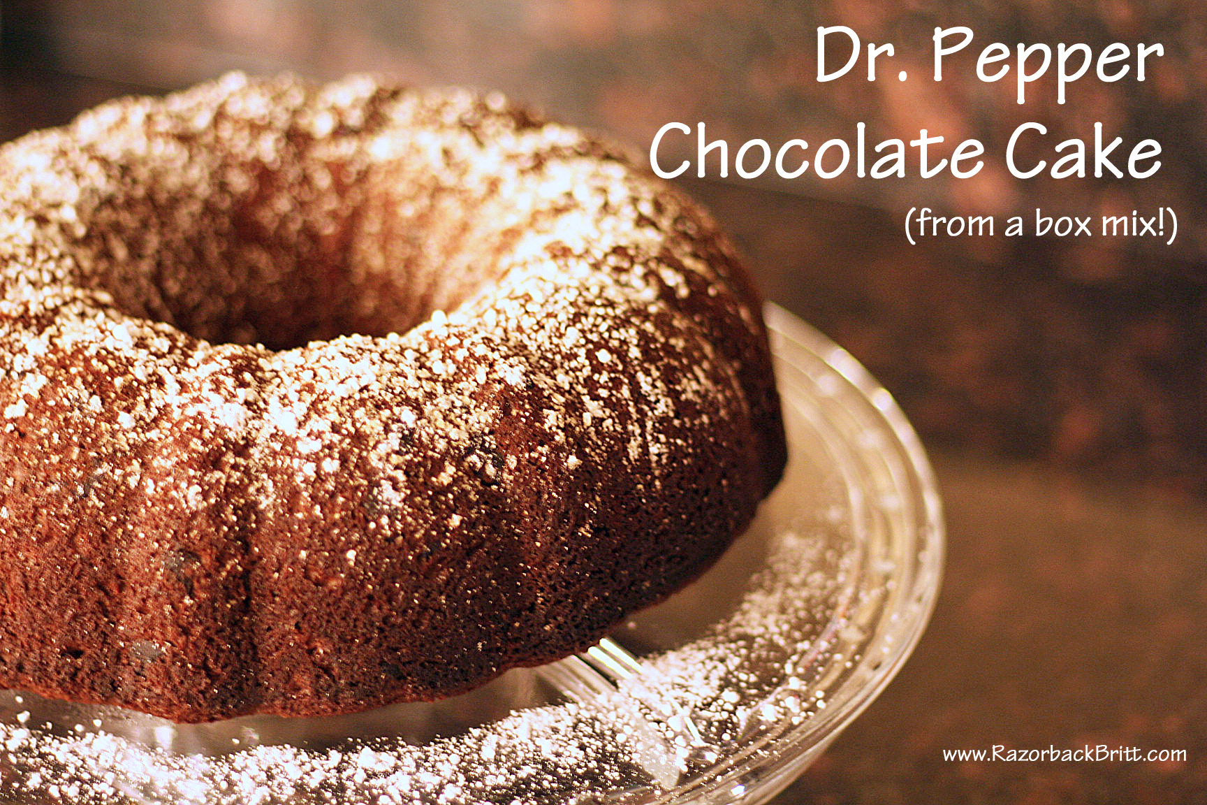 Dr Pepper Cake Mix Cupcakes