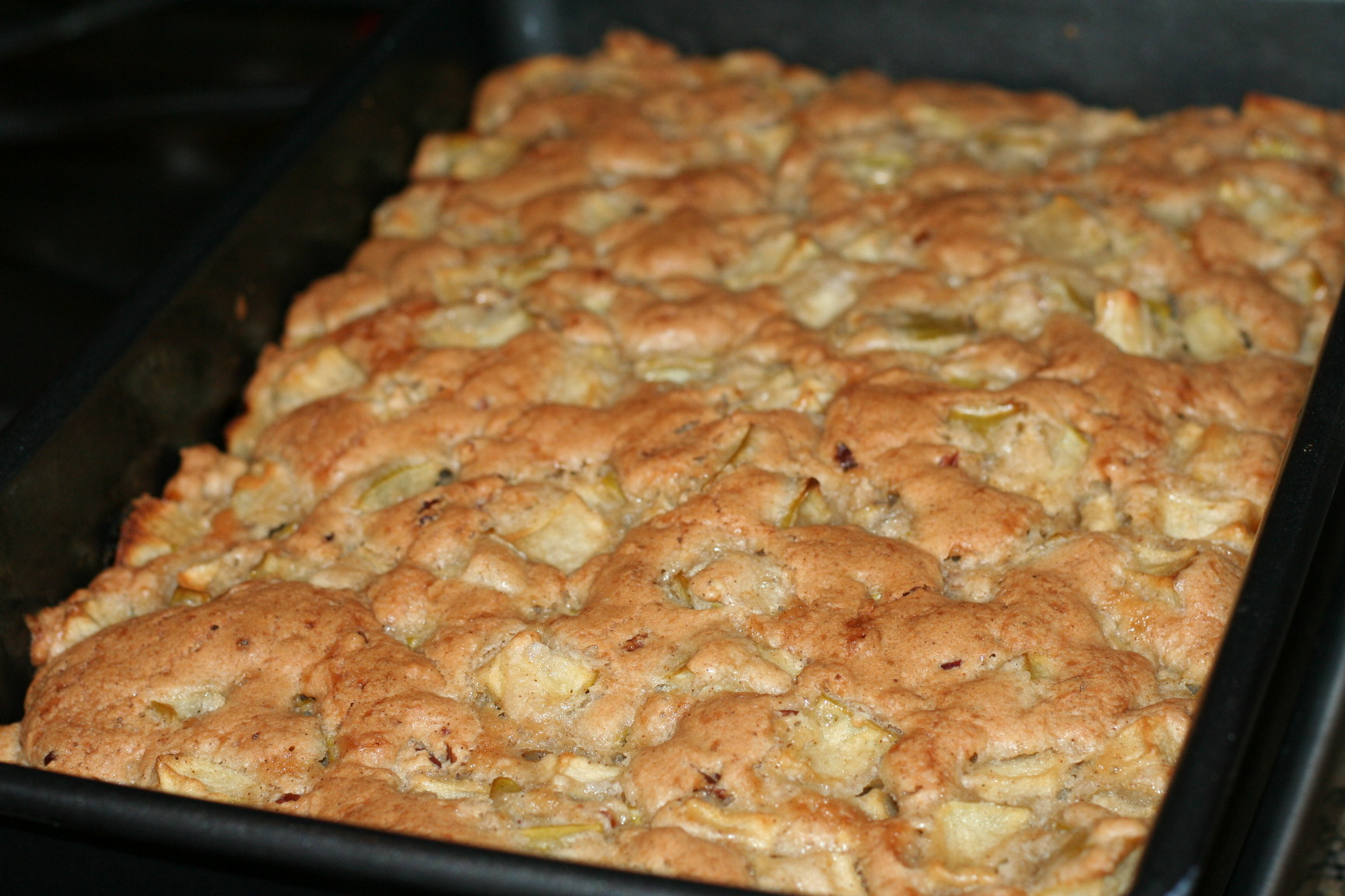 german apple cake recipe 4 c diced granny smith apples 2 eggs 2 c ...