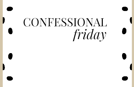 Friday Confessions: Christmas Edition