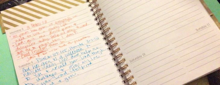 How I Plan to Stay Accountable to Bible Study in 2015