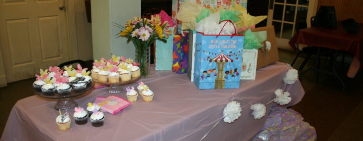 Weekend Recap: Baby Showers Round 1