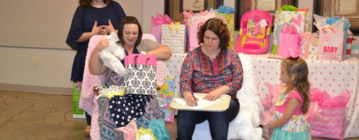 Weekend Recap: Church Baby Shower