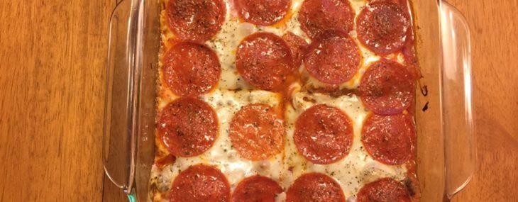 Pizza Baked Spaghetti Squash
