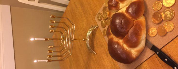 Celebrating Hanukkah!