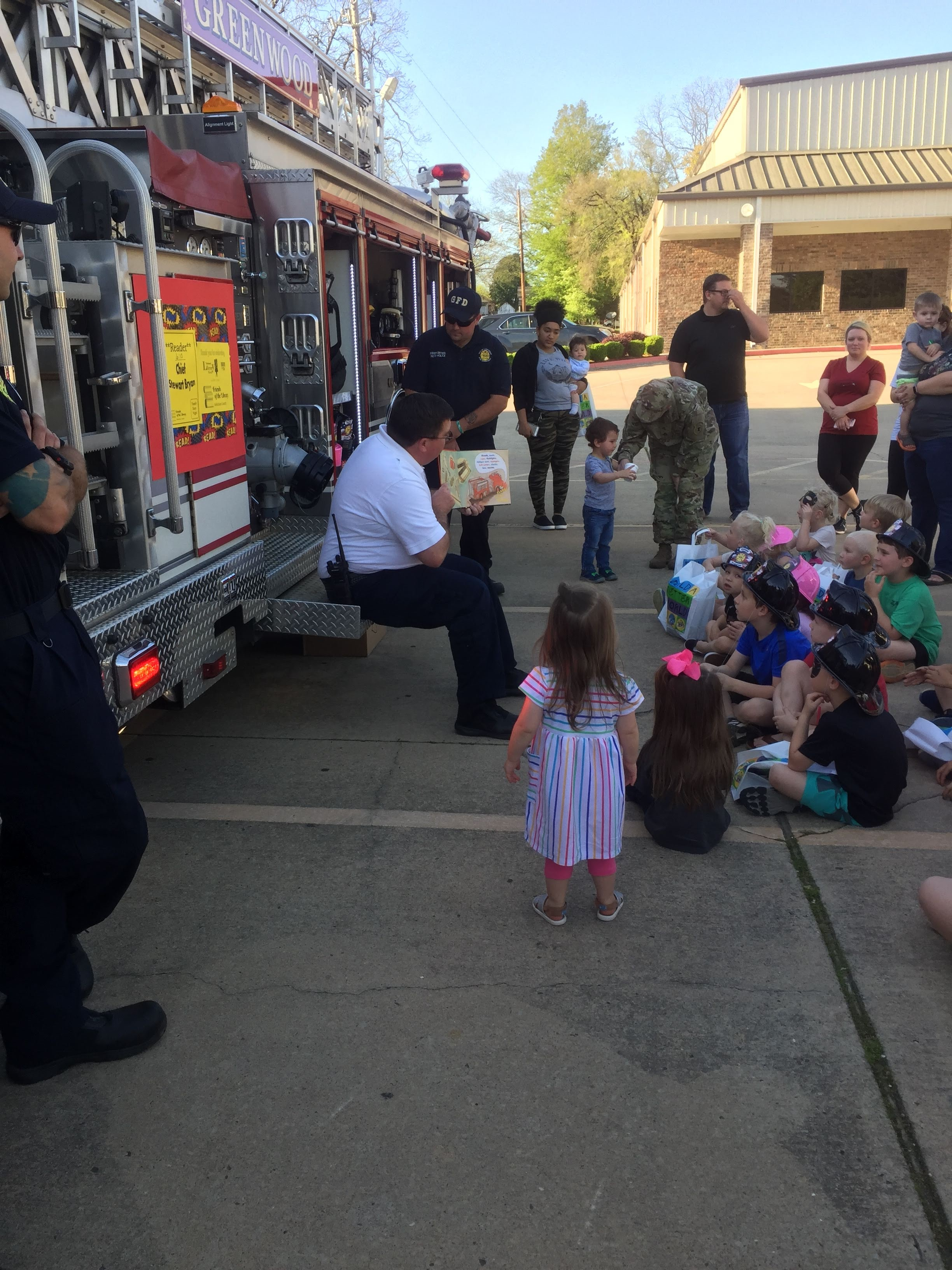 Touch a Truck Night at the Library