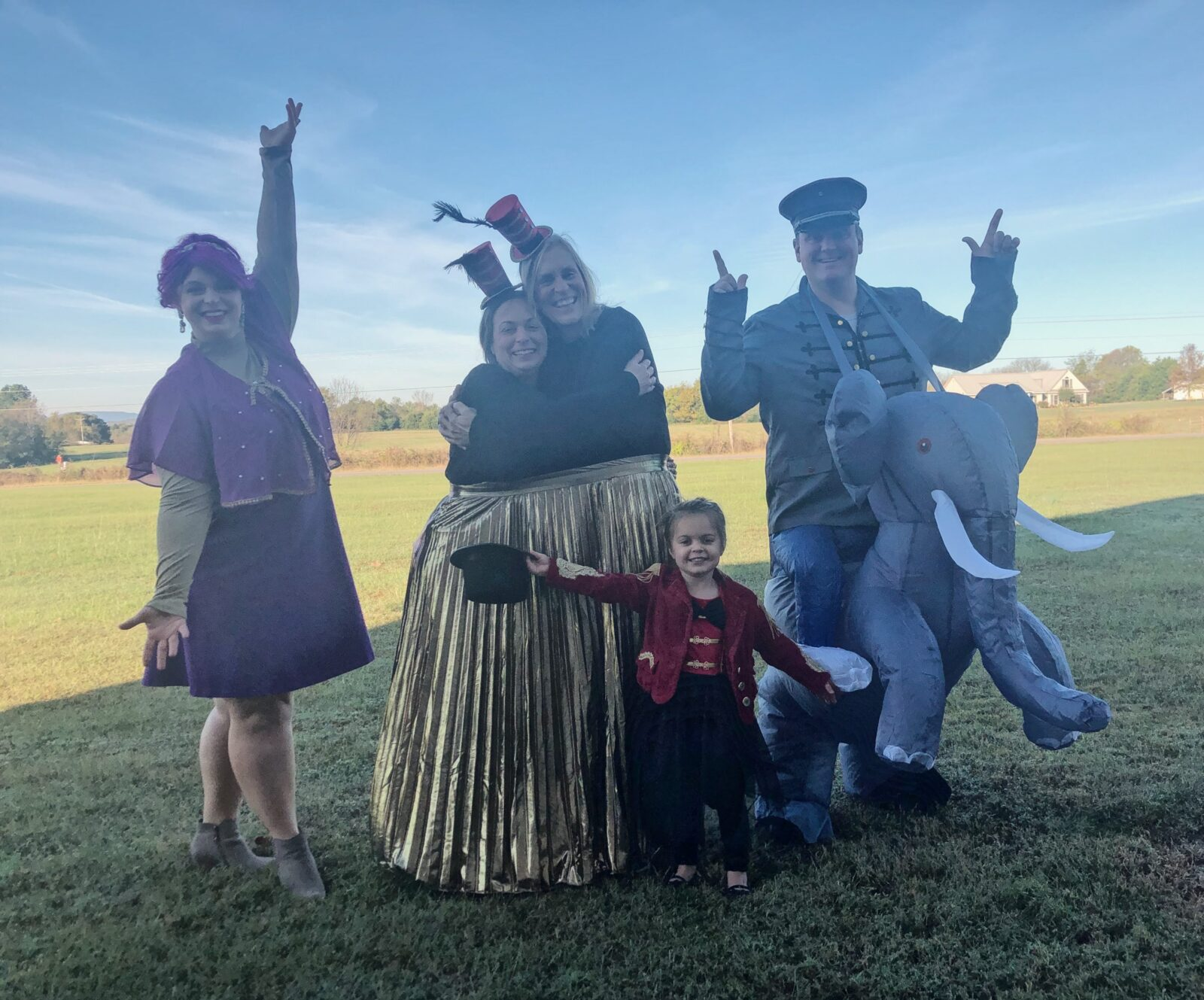 Family Halloween- The Greatest Showman