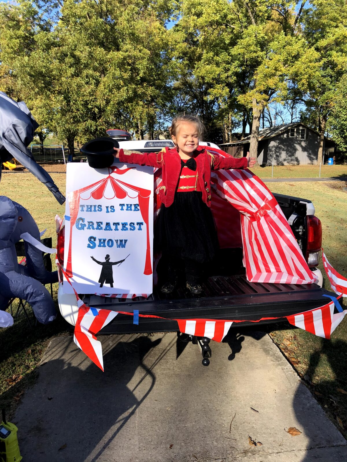 The Greatest Showman Circus Trunk or Treat