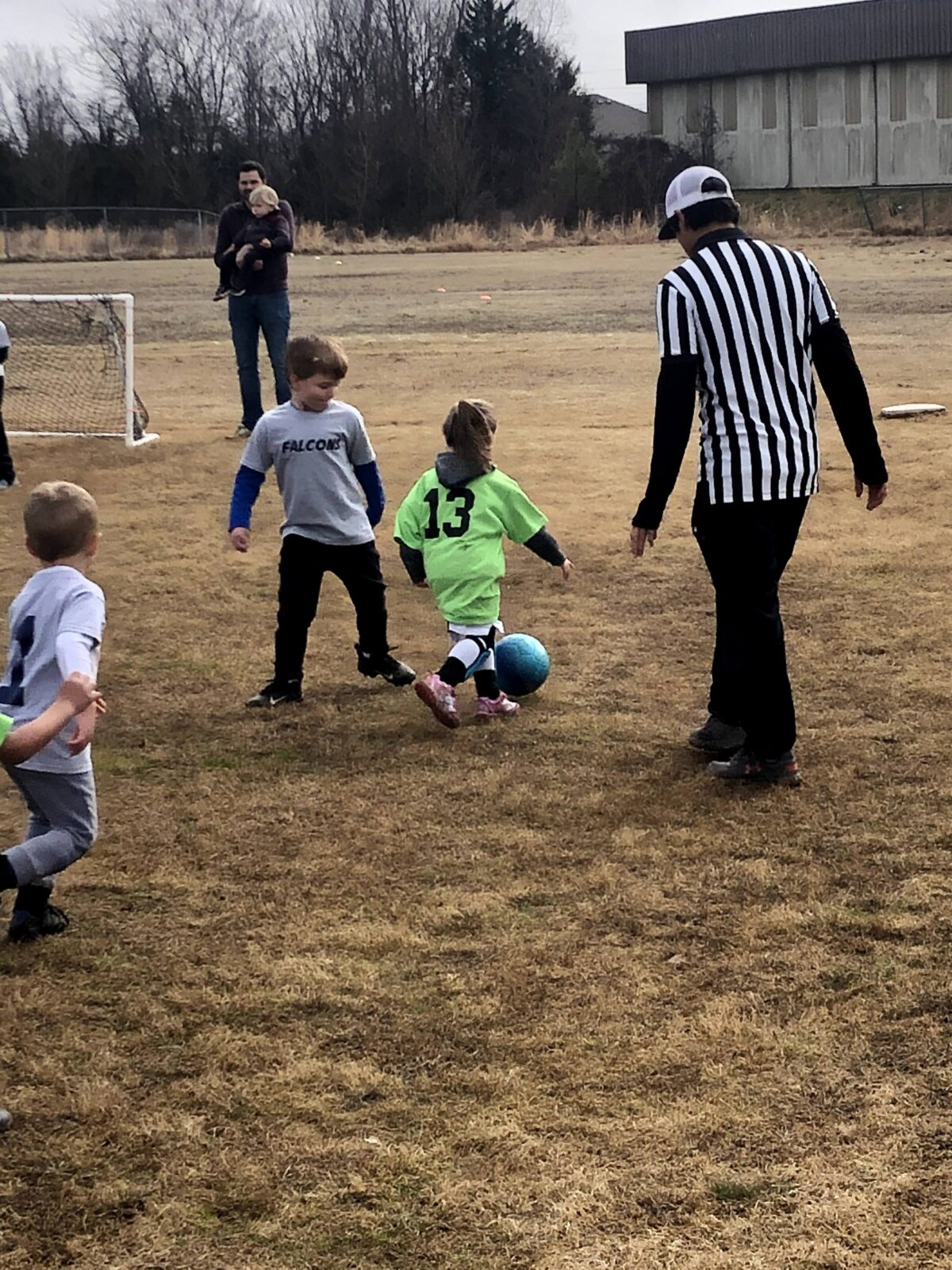 Remi's First Soccer Game