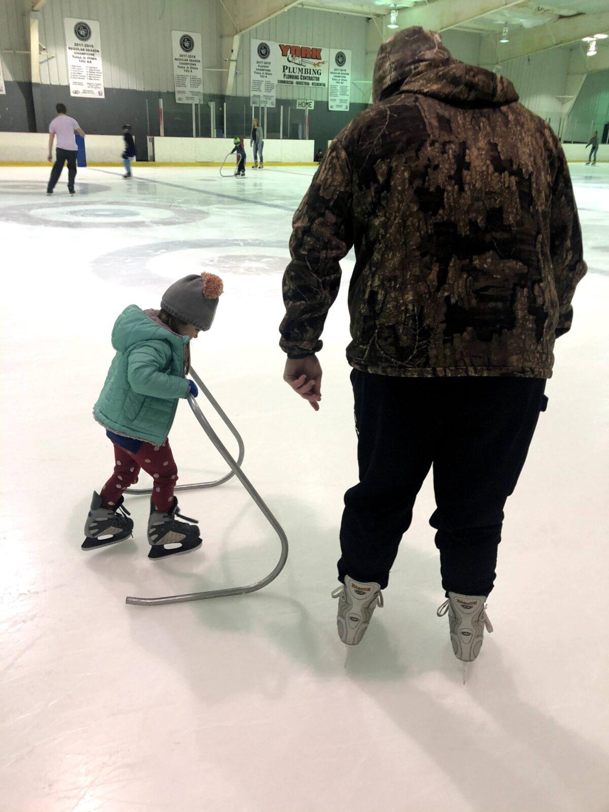 Trying Something New- Ice Skating